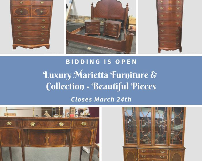 Luxury Marietta Furniture & Collection - Beautiful Pieces