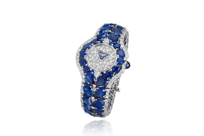 Lot 289 Chopard Diamond  Sapphire Watch