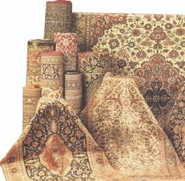 Lot 128 Fine Silk Carpets