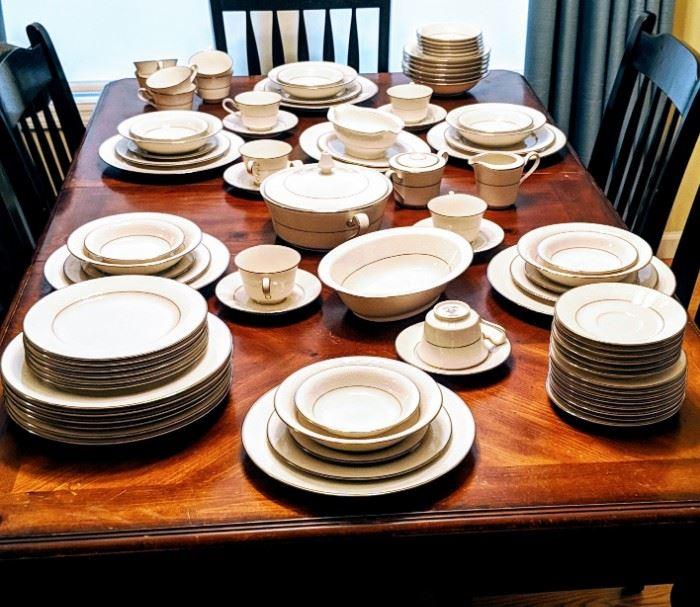 Noritake china set