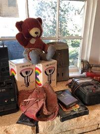 Smokey the Bear, old baseball mitt, cool stuff