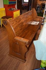 Vintage Pew Bench