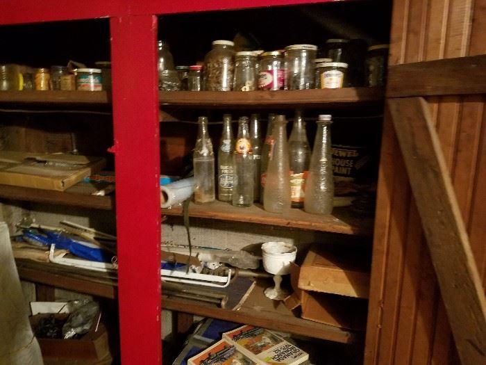 Old School Soda Bottles