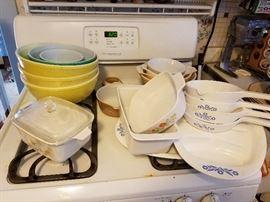 Pyrex Bowls Various Patterns