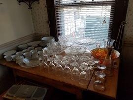 Cake Plates And Glassware