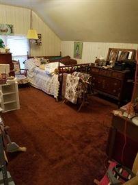 Vintage Trundle Bed Quilts