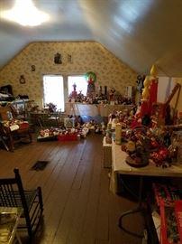 Lots Of Christmas Vintage Christmas