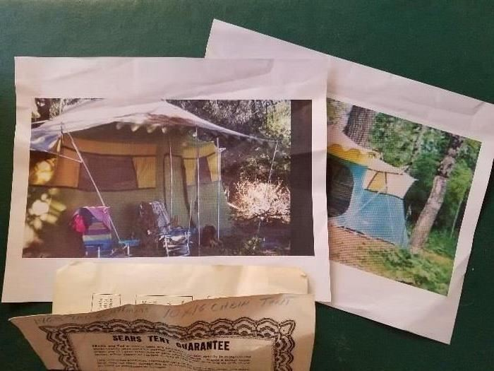 1968 Ted Williams Cabin Tent