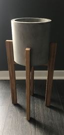 Midcentury-Inspired Plant Stand