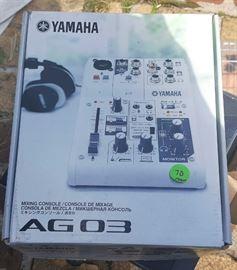 WMP001 Yamaha Mixing Console