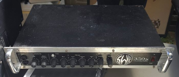 WMP004 SWR 350x Professional Bass Amplifier