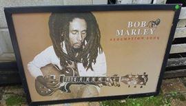 WMP006 Cool Framed Bob Marley Redemption Song Print