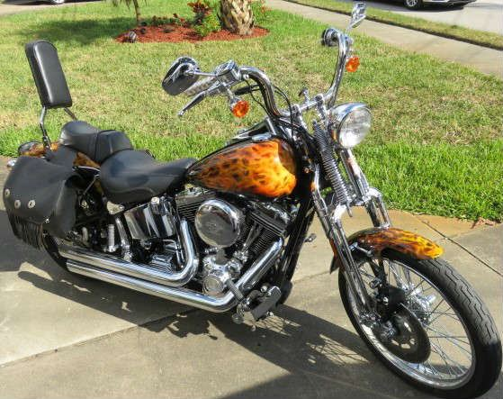 2003 Harley Davidson Springer Softail 100th Anniversary Limited Edition, 4200 miles Mint Condition