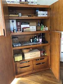 Henredon cabinet interior