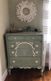 Vintage 1920s painted chest