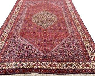 "High quality, Authentic Persian Bidjar, 100% Handmade Wool Rug 6'5"" x 9'7"