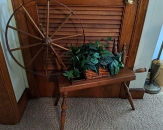 Spinning Wheel Planter