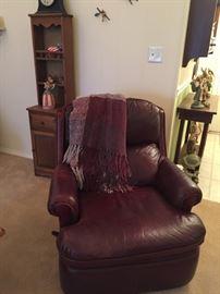 leather rocker recliner