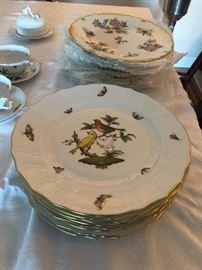 Rothschild Bird Dinner Plate 8pcs. $90 each