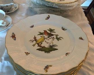 Rothschild Bird Dinner Plate 8pcs. $90 each