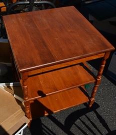 Vintage Ethan Allen Maple Side Table
