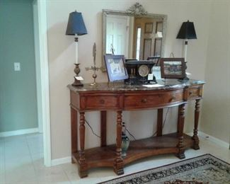 Entrance way table wow