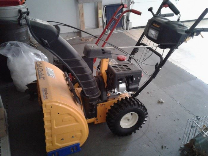 Club Cadet snowblower (orig. price about 1400)