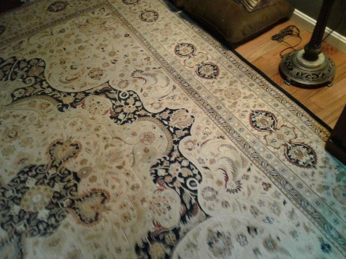 Hand made rug 8 x 11. Was 7000 new