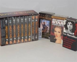 4 VHS Box Sets Hard to Find Titles