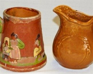 2 Pieces  Native American Pottery