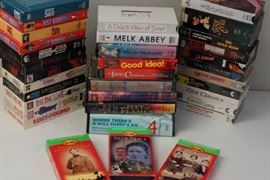 2 Large Boxes of VHS Movies Over 100 Great Movie ...