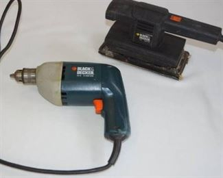 Black and Decker Corded Drill and Sander Tested