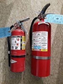 2 ABC Fire Extinguishers