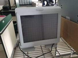 Complete POS System and Metal Cart.