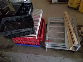 Bread Crates and Dish Crates