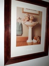 Framed Anne Geddes Art