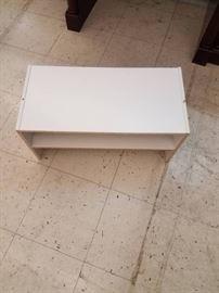 3 White Shelves