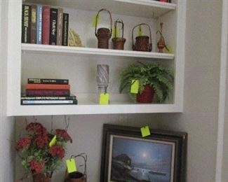 Lots of Décor Pieces and Books
