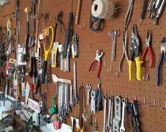 TONS of hand tools