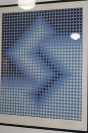Artwork Sembe by Victor Vasarely