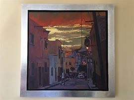 Ruben Lazcano, Listed Artist Oil on Canvas