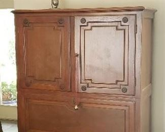 Cherry Armoire, Original oil