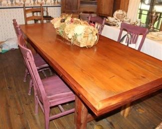 3. furniture custom long table