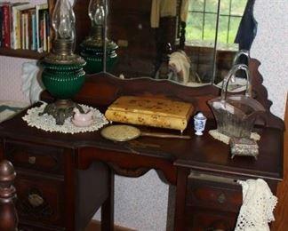 furniture antique vanity