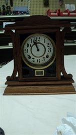 Old wind up clock.