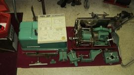 Porta Shop made in Michigan Do-it-all work shop with carrying case and variable speed