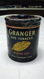 Cool vintage / old Grander Tobacco can