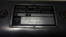 Pennsylvania Railroad Impact Register.  Great railroad piece.
