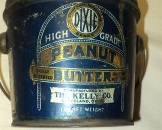 Vintage Dixie Peanut Butter Can...The Kelly Company