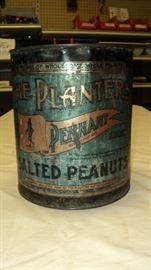 Vintage Planter's Peanuts can!